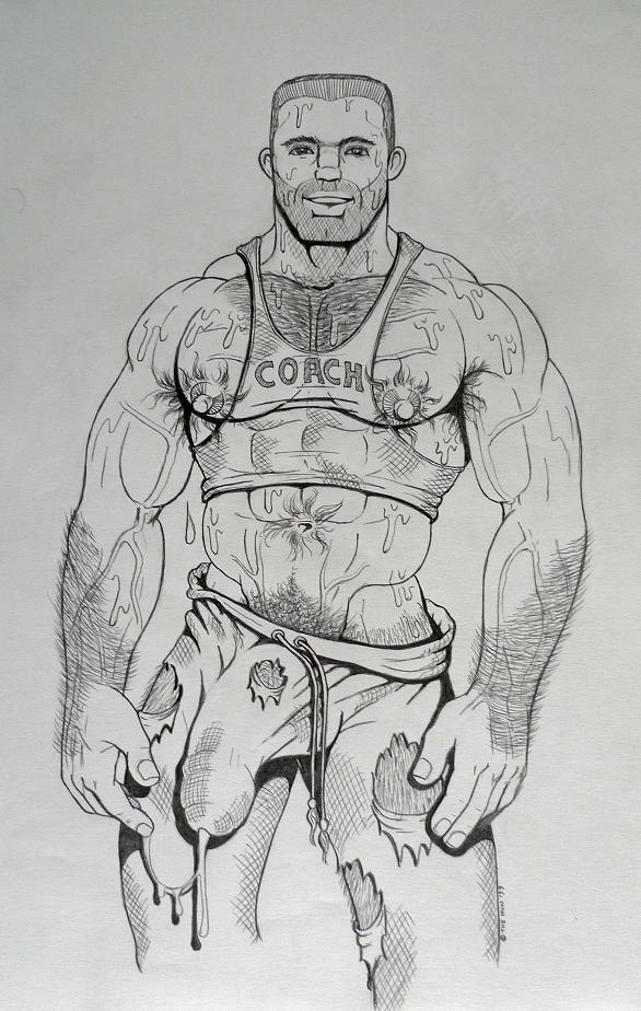 Gay porn drawings