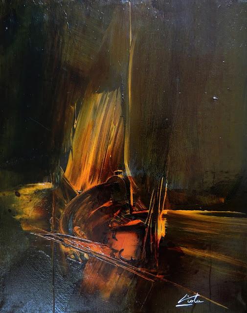 Manuel Viola pintura abstarcta