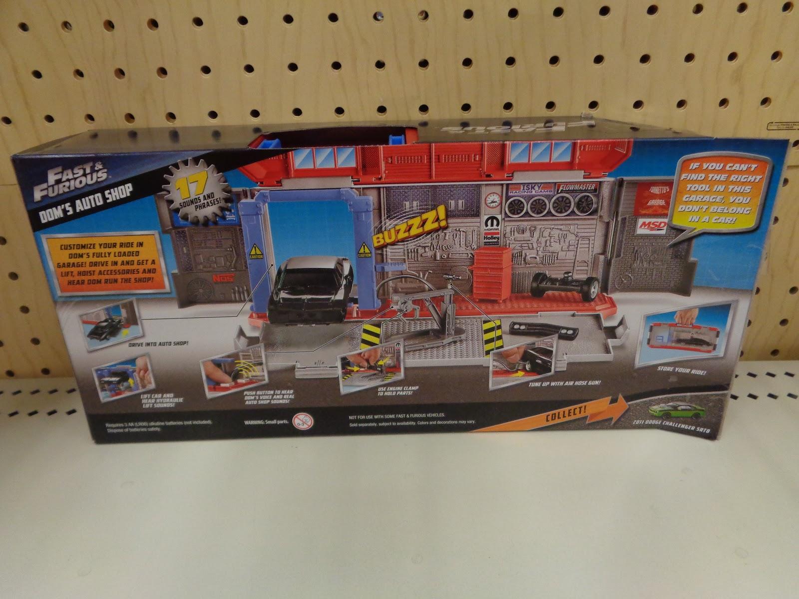 J And J Toys Mattel Fast Furious Doms Auto Shop