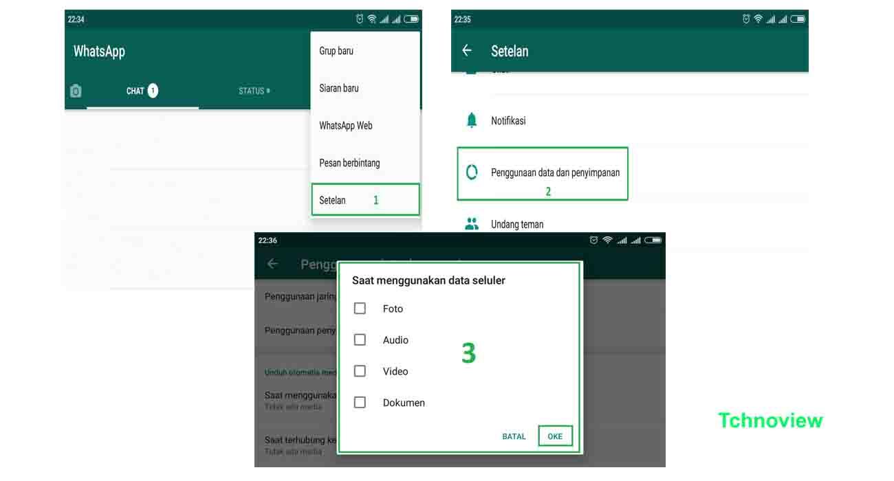 Cara Mudah Mengatur Penyimpanan Whatsapps Agar Hp Tidak Lemot