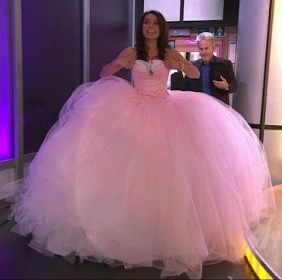 Irish Traveler Wedding Dresses Design With The Color Pink