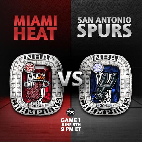 2014 NBA Finals  Miami Heat vs. San Antonio Spurs. Preview and prediction. 4474eeb11