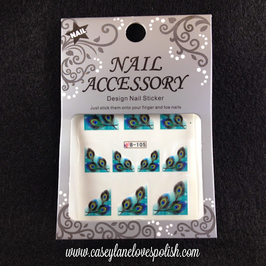 Born Pretty Store Review: Water Decals