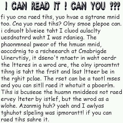 Scrambled Words Reading Riddle