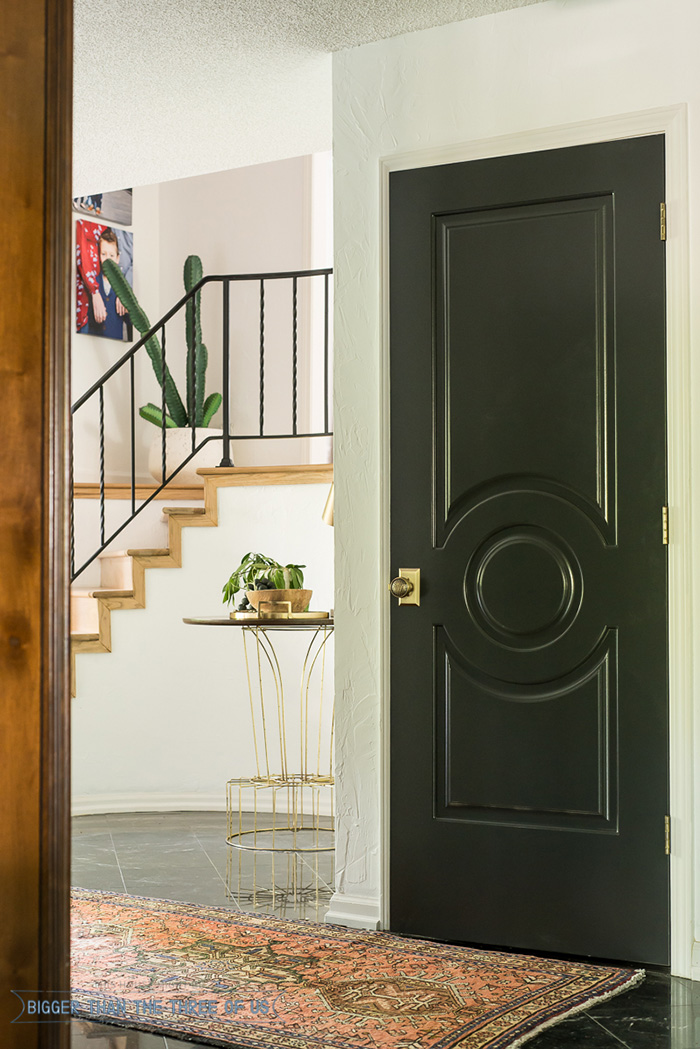 Why I Chose Black Interior Doors For My New House Monica