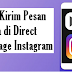 Cara Kirim Pesan suara di Direct Message Instagram