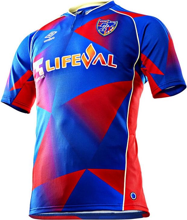 ce187205ae0c3 Umbro lança a nova camisa titular do FC Tokyo - Show de Camisas