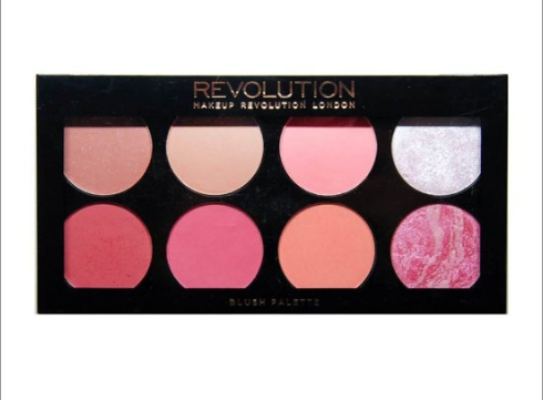 Makeup revolution sugar and spice allık paleti