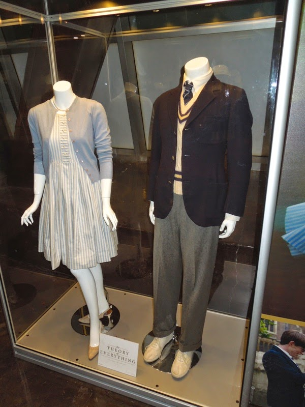 Felicity Jones Eddie Redmayne Theory of Everything costumes