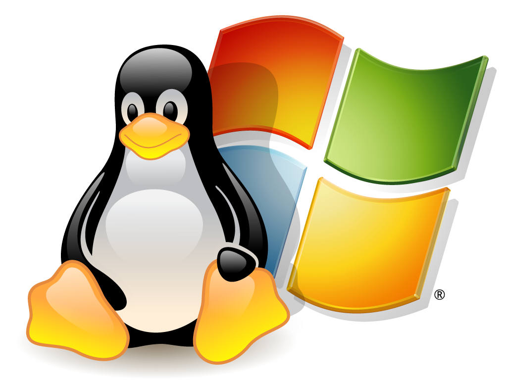 Windows OS and Linux OS