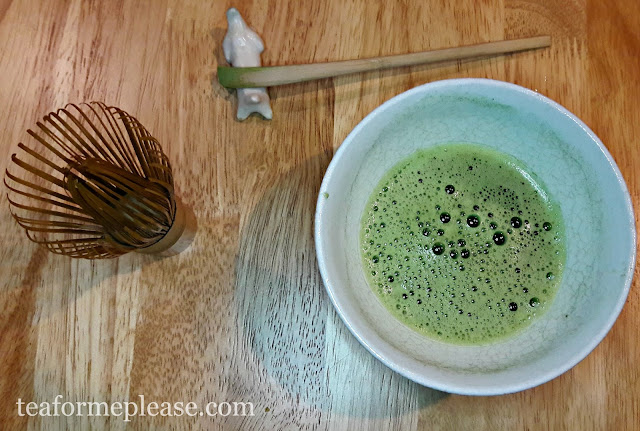 Bowl of Matcha Tea