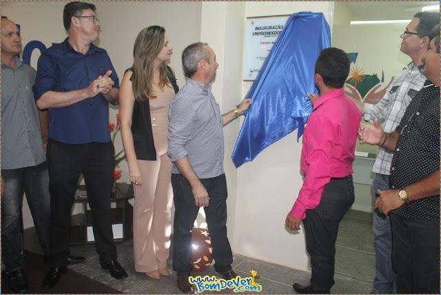 Inaugurada sala do Empreendedor em Mucambo.
