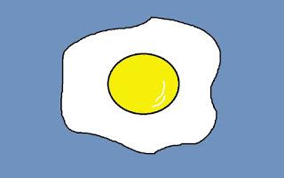 ovos fritos, estrelados, estalados, estralados