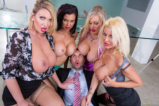 Jasmine Jae & Leigh Darby : Office 4-Play VIII: UK Edition ## BRAZZERS b6rt2lhxl4.jpg