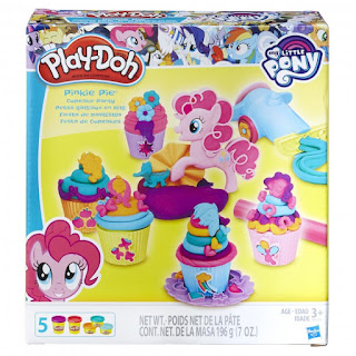 MLP Play-Doh Pinkie Pie's Cupcake Party Set