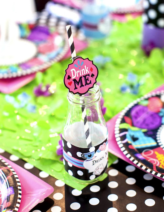 A Wonderland Birthday Mad Tea Party | Party Ideas | Party Printables