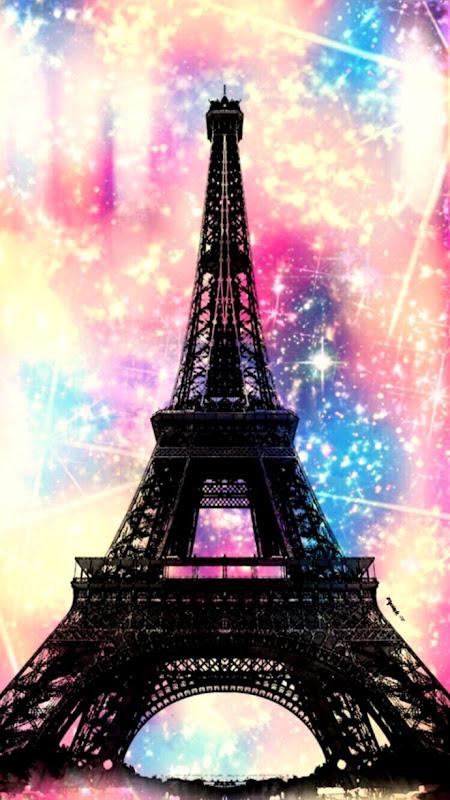 ARTHOUSE 691107 GLITTER NEW LOVE PARIS WALLPAPER BLUSH PINK