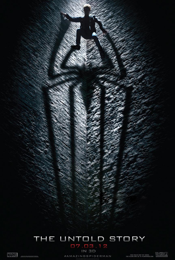 Primer poster de The Amazing Spider-man
