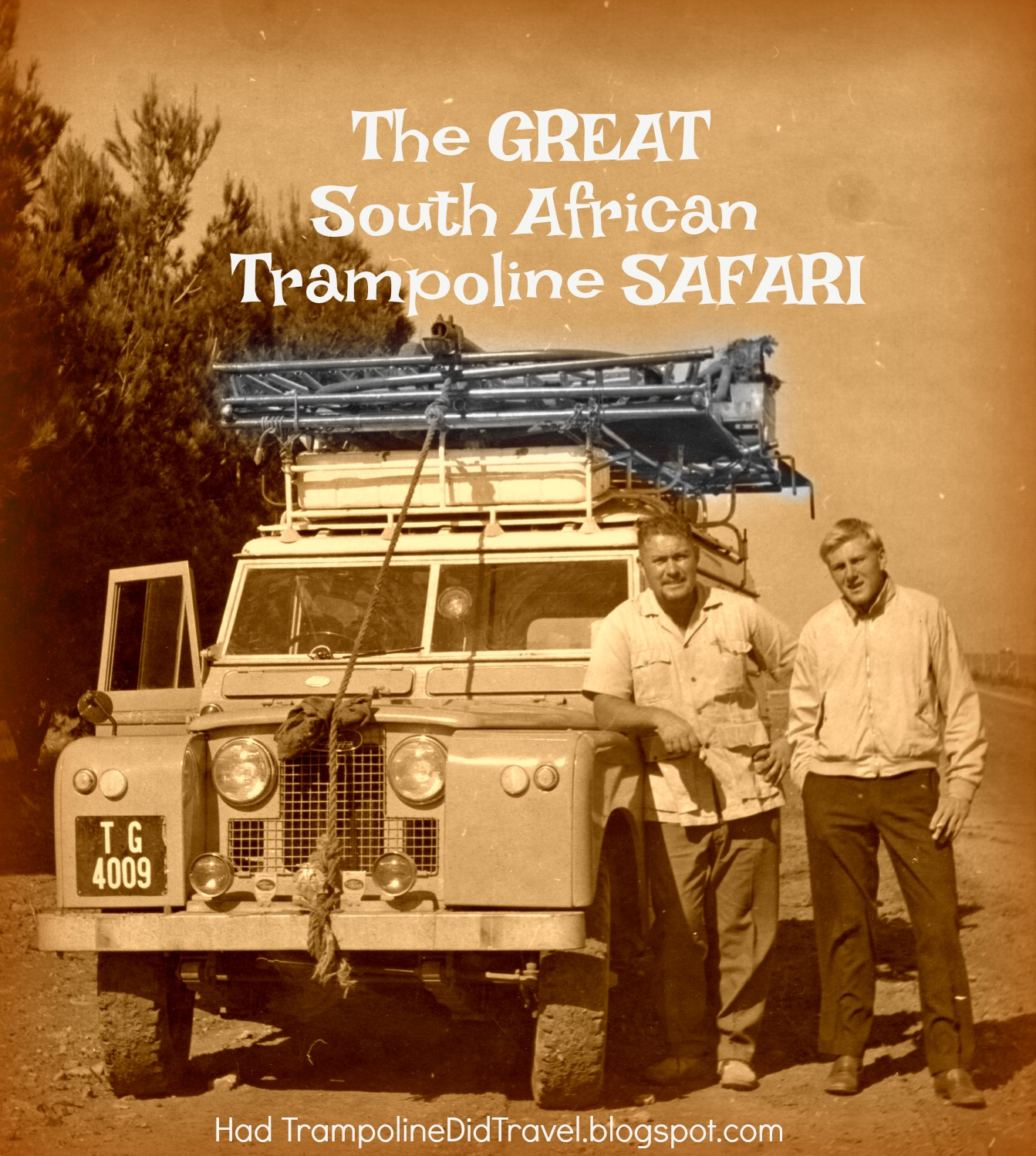 The GREAT South African Trampoline Safari