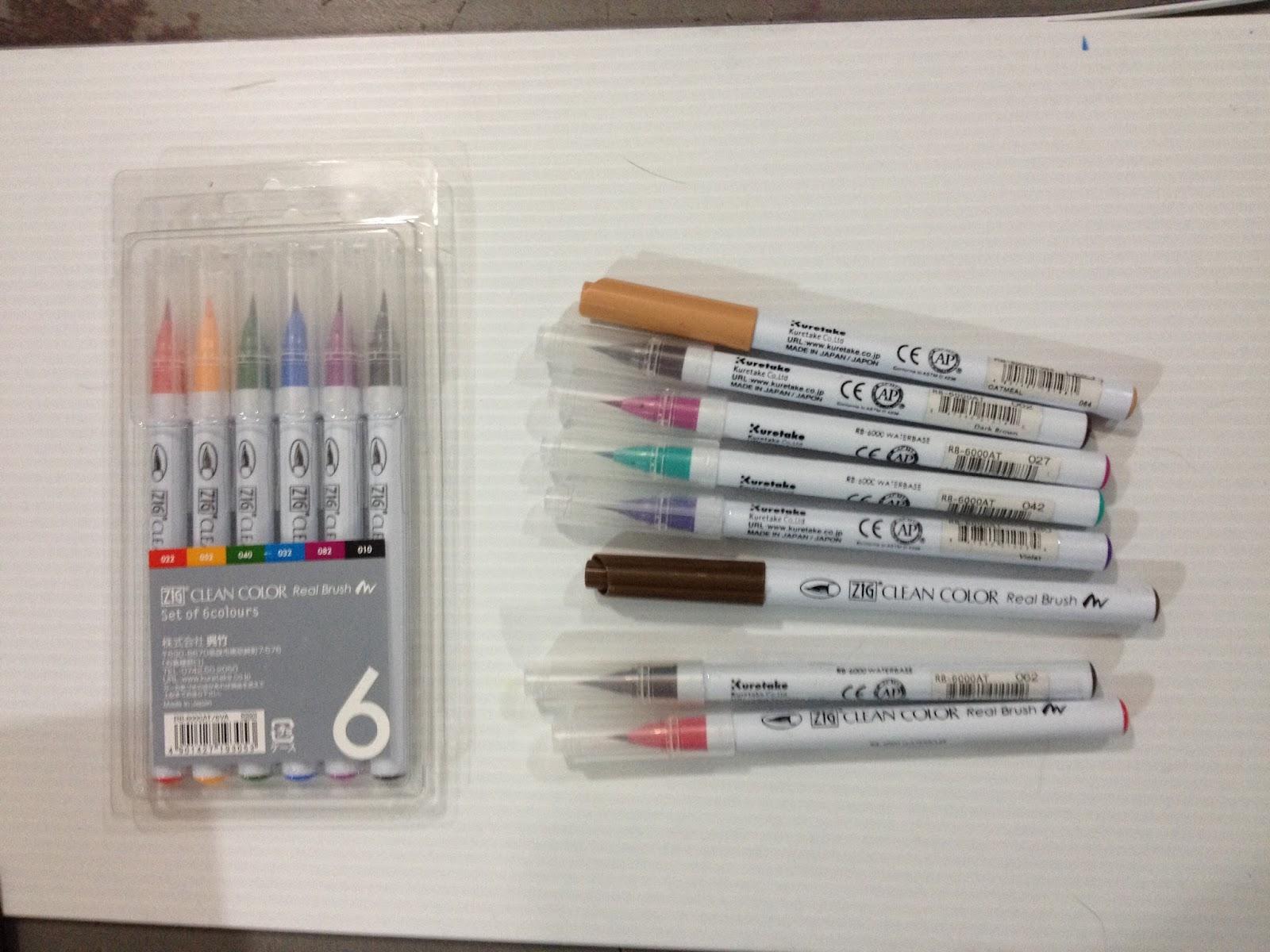 Nattosoup Studio Art And Process Blog Watercolor Marker