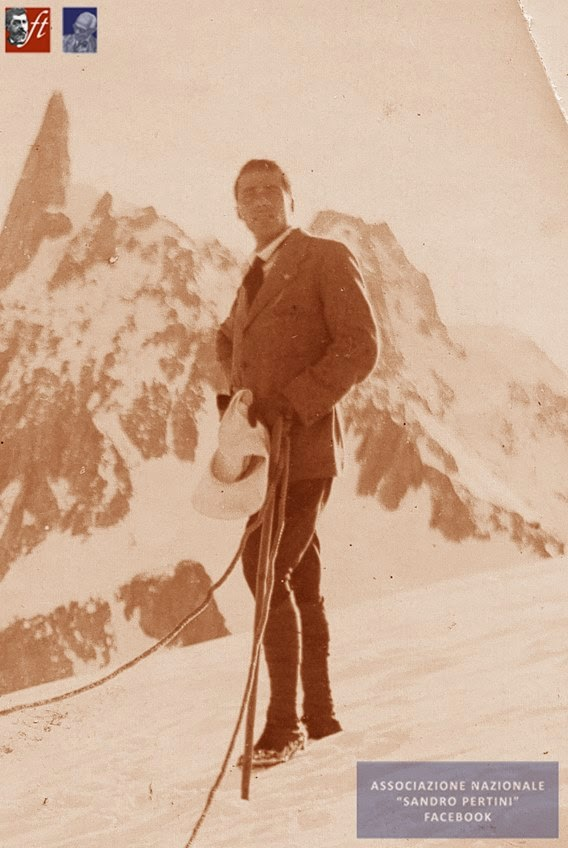 Estate 1914 Giacomo Matteotti in villeggiatura a Courmayeur
