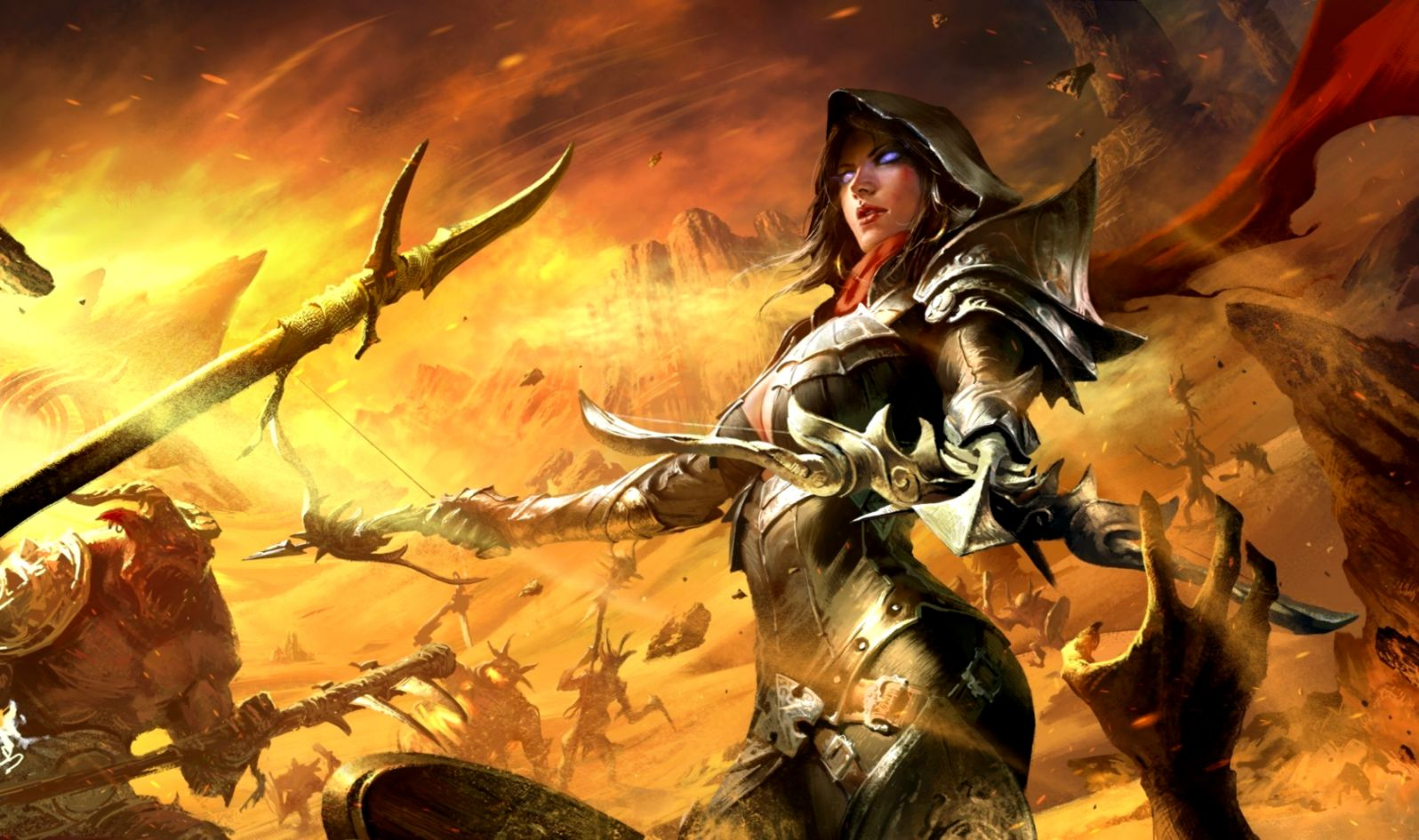 Diablo 3 Game Pc Hd Wallpaper Eazy Wallpapers