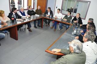 funcionarios de la administración Vidal informaron que no se autorizó la construcción del canal aliviador desde La Picasa (Santa Fe) hacia Buenos Aires