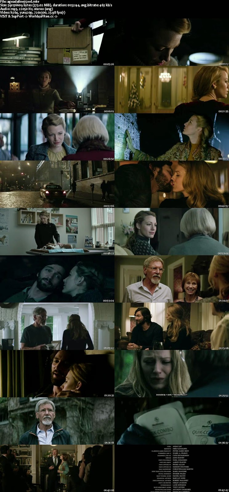 The Age of Adaline (2015) English 480p BluRay Download Full Movie