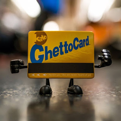 Five Points Festival Exclusive Ghetto Card Vinyl Figure by kaNO
