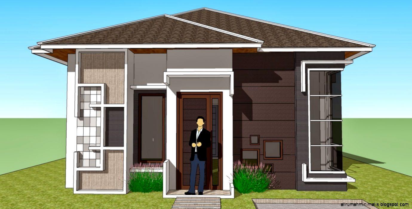108 Gambar Rumah Minimalis Sederhana Kampung Gambar Desain