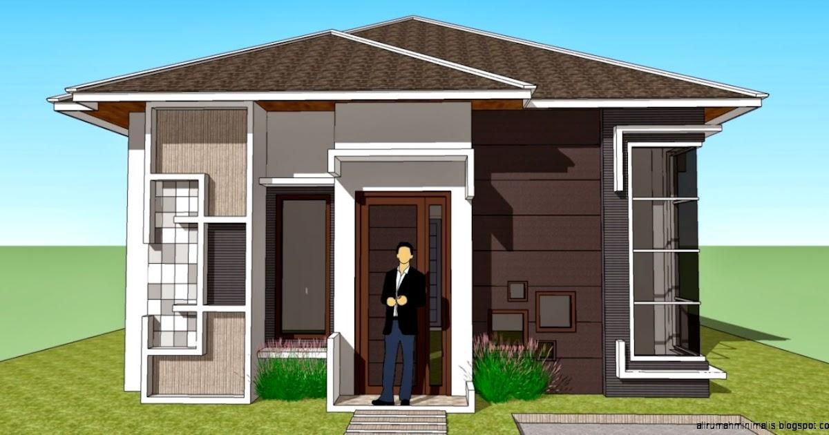 Top Desain Rumah Kecil Minimalis Kampung Gubukhome