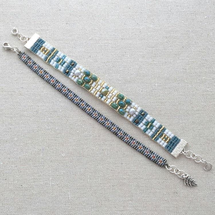 Lisa Yangs Jewelry Blog Making Loomed Bracelets With A Ricks