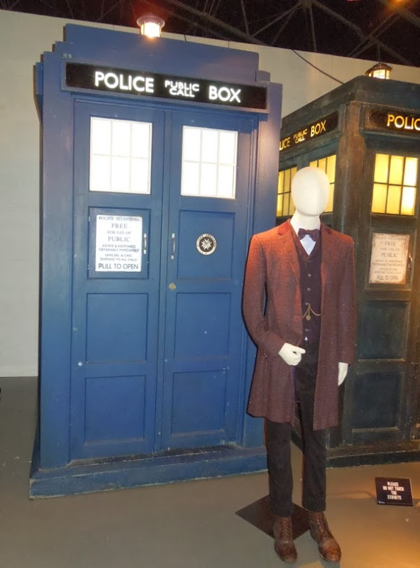 Matt Smith Day of the Doctor costume TARDIS