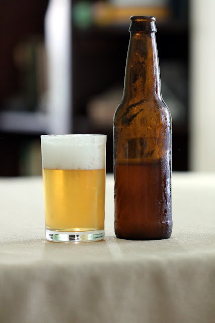 Westy Blond clone bottle conditioned with White Labs Trois Vrai
