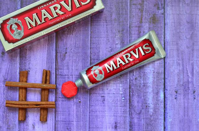 итальянская отбеливающая натуральная Зубная паста Marvis Cinnamon Mint