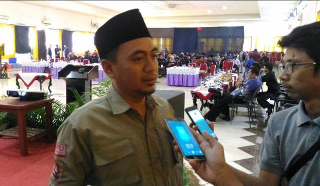 Divisi Sumber Daya Manusia dan Partisipasi Masyarakat KPU Lumajang, Muhammad Ridhol Mujib