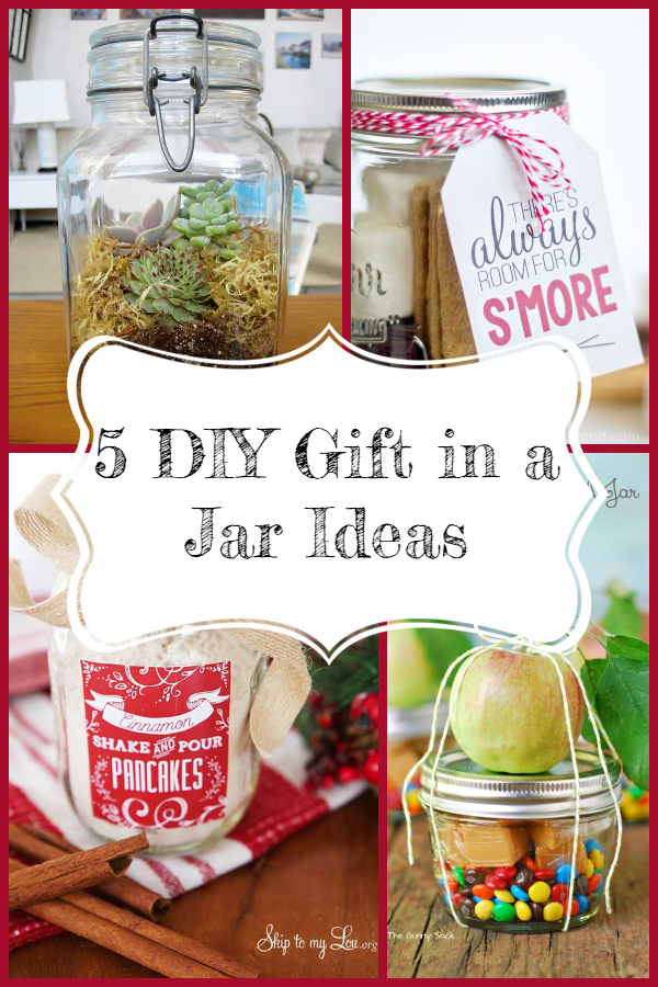 5 DIY Gift in a Jar Ideas - Twelve Days of Christmas