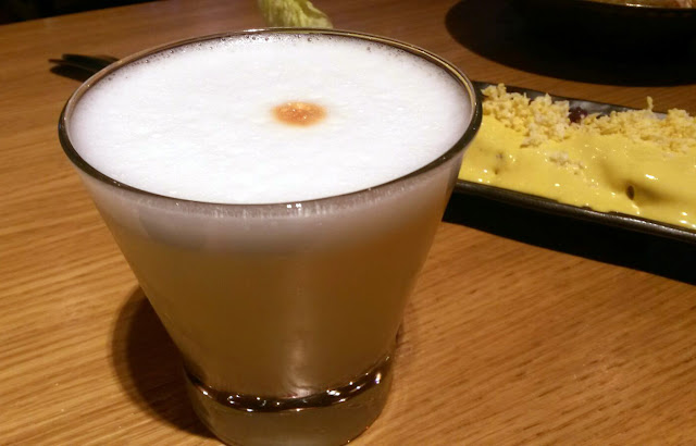 Pisco Sour en La Cevicuchería, Tusolovive Madrid