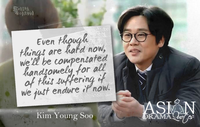 Come Back Ahjussi Drama Quotes