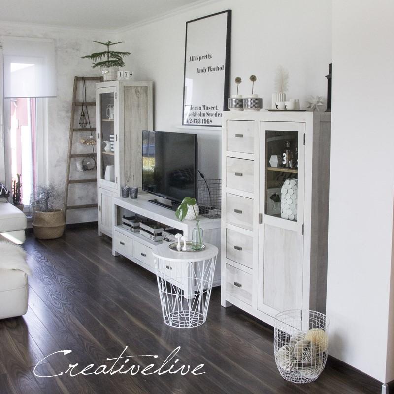Kreidefarbe frs Wohnzimmer   creativLIVE