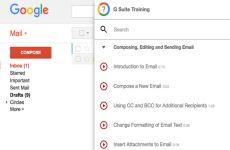G Suite Training: extensión para aprender a utilizar las herramientas de G Suite de manera interactiva (Chrome)