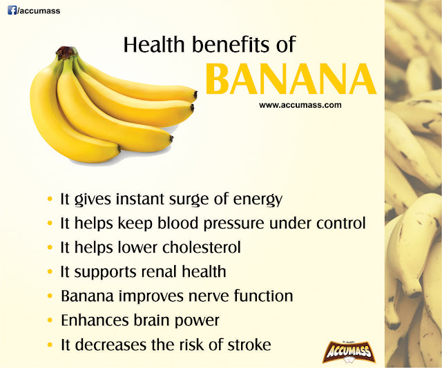 Benefits of banana food