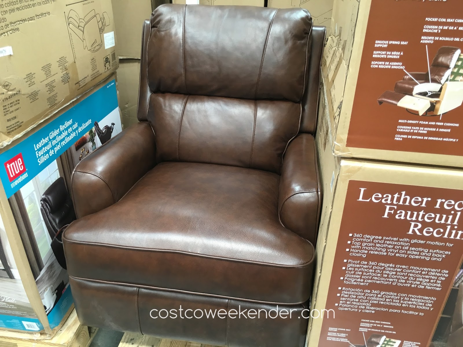 Synergy Leather Recliner - The perfect chair for any room & Synergy Leather Recliner Chair | Costco Weekender islam-shia.org