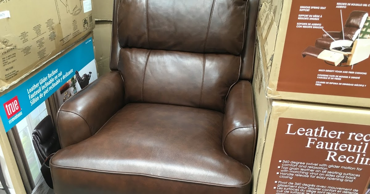 Synergy Leather Recliner Chair Costco Weekender