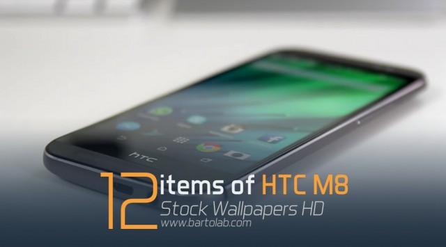 HTC One M8 Stock Wallpapers Pack