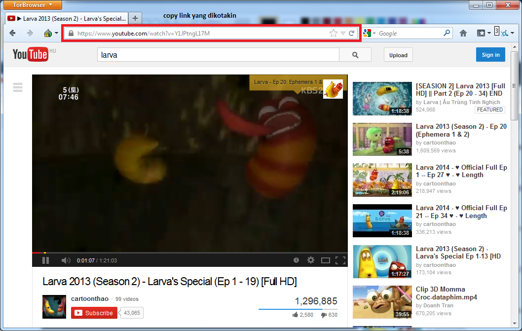 cara download youtube tanpa software