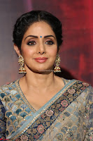 Sri Devi in designer saree stunning beauty at the launch of MOM movie Trailer~  Exclusive 025.JPG