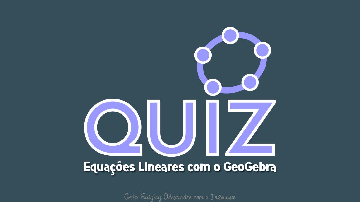 Quiz: gráficos de equações lineares utilizando o GeoGebra