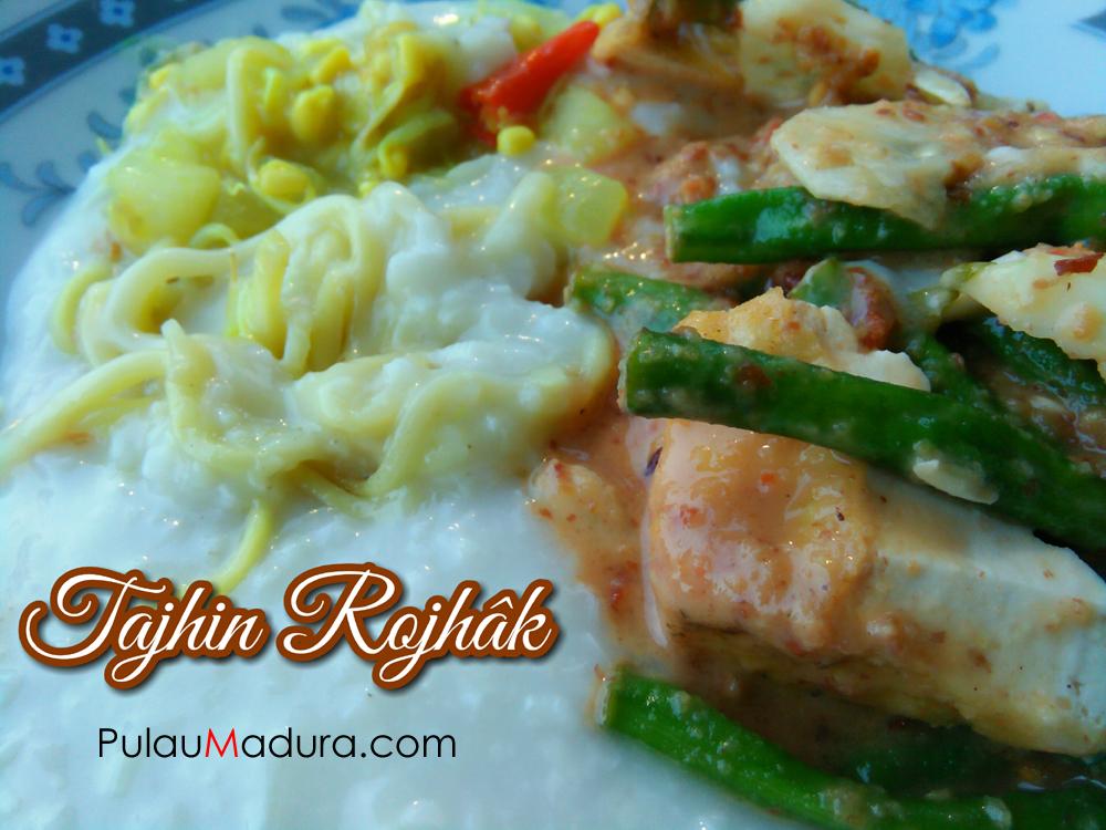 Kuliner Khas Madura di Bulan Ramadhan - Tajin Rujak dan