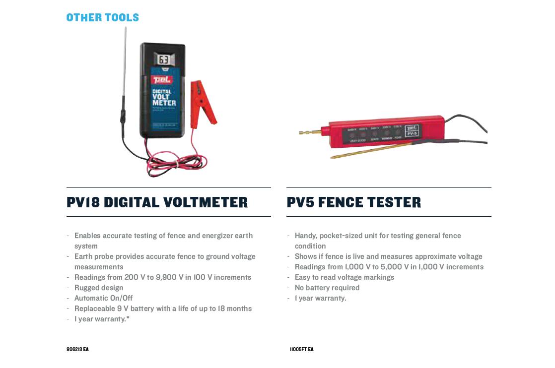 Digital Voltmeter Fence : Pagar elektrik dan solar sistem accessories for electric